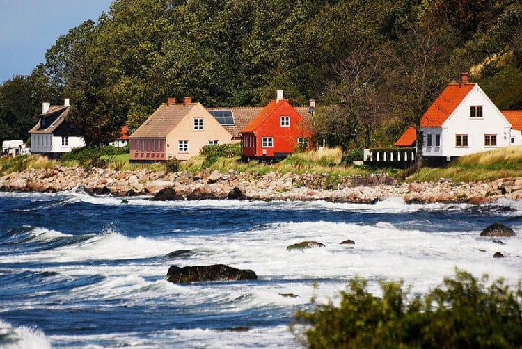 Остров Борнхольм в Дании