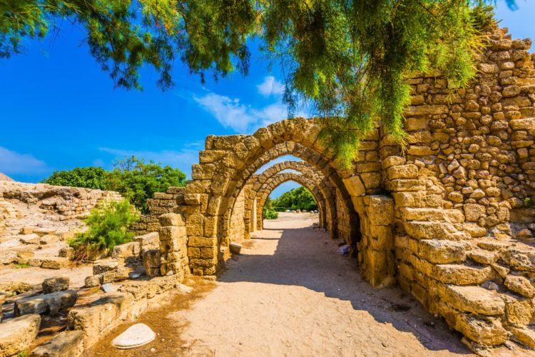 Национальный парк Кесария в Израиле