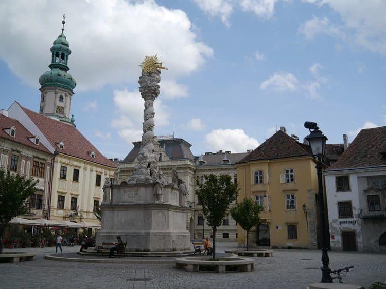 Исторический центр Шопрона в Венгрии