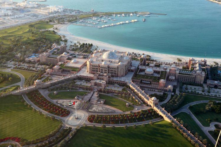 Отель Emirates Palace в ОАЭ