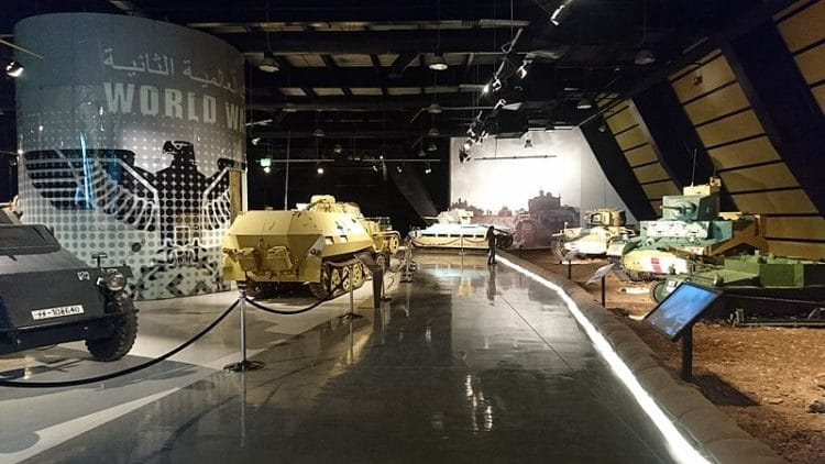 Королевский музей танков в Иордании