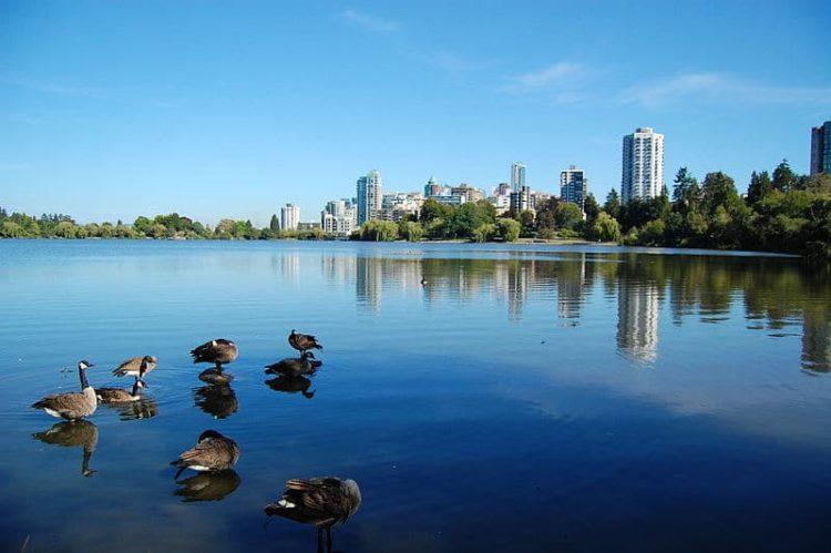 Стэнли-парк в Канаде
