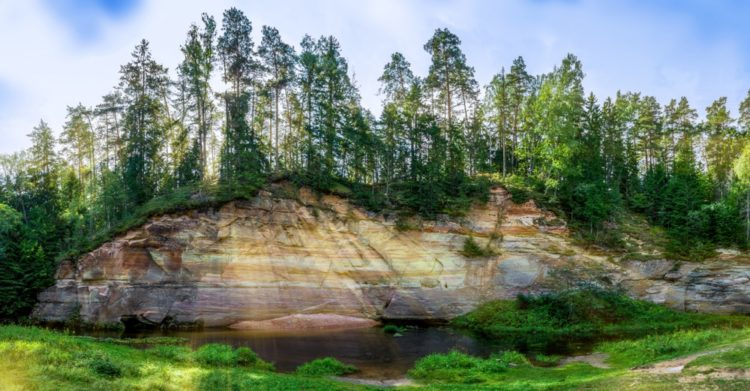 Суур-Таэваскода и Вяйке-Таэваскода в Эстонии