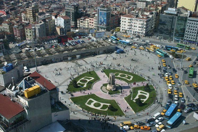 Площадь Таксим в Турции