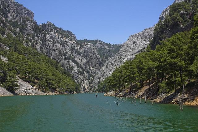 Грин Каньон (Зеленый Каньон) в Турции
