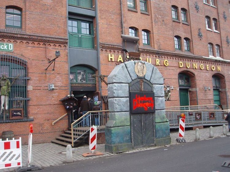 Гамбургская темница в Германии