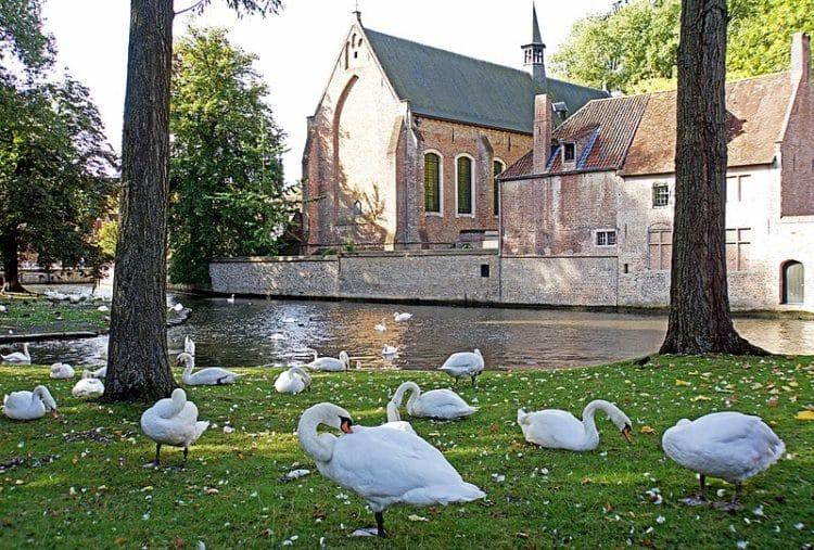 Озеро Любви в Бельгии