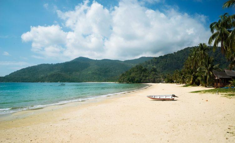 Остров Тиоман в Малайзии