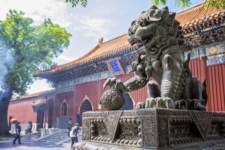 Храм Юнхэгун в Китае