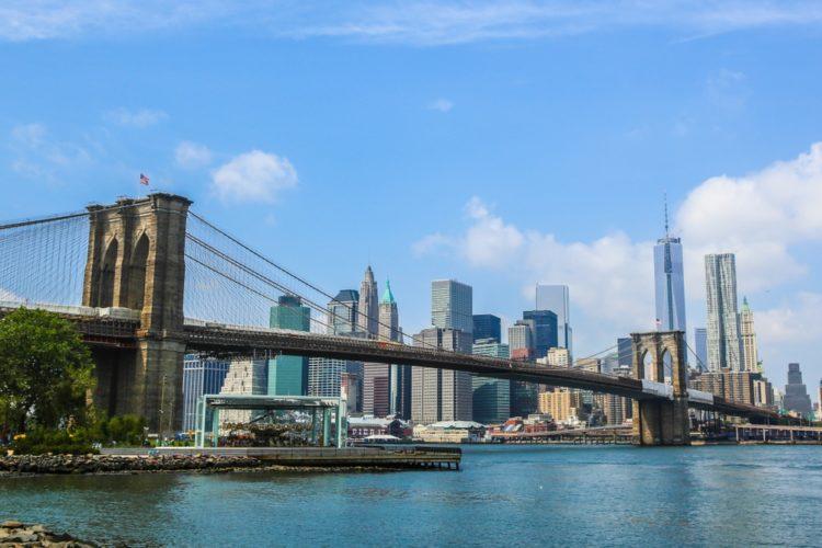 Бруклинский мост в США