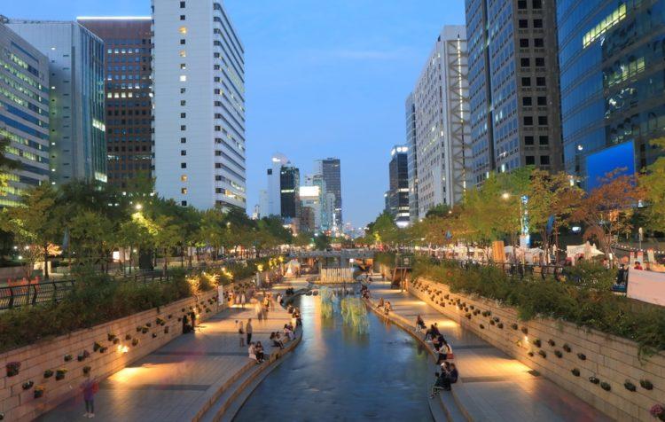 Чхонгечхон в Южной Корее