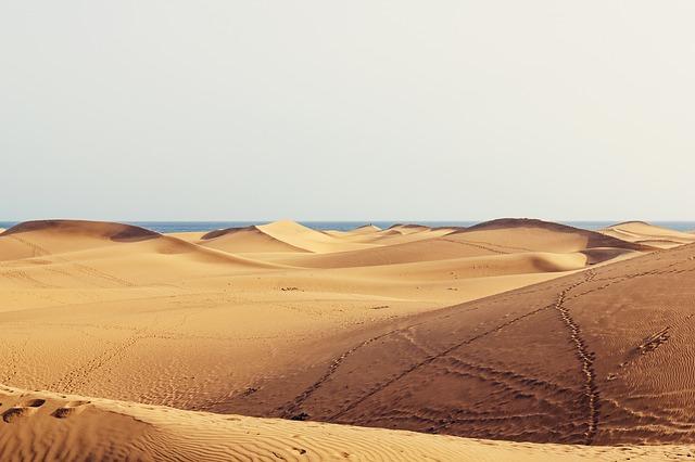Дюны Маспаломас в Испании