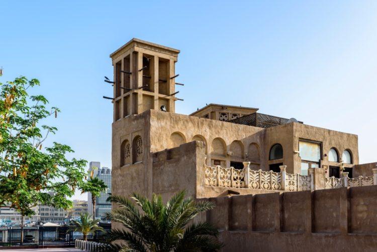 Дом-дворец шейха Саида в ОАЭ