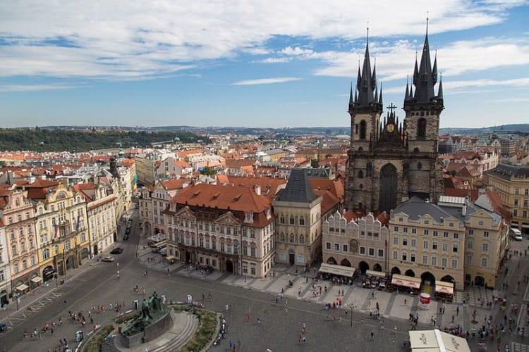Староместская площадь в Чехии
