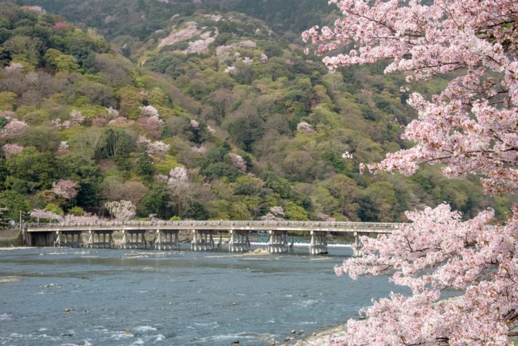 Мост Тогэцу-кё в Японии