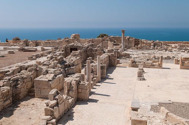 Античный город Курион на Кипре