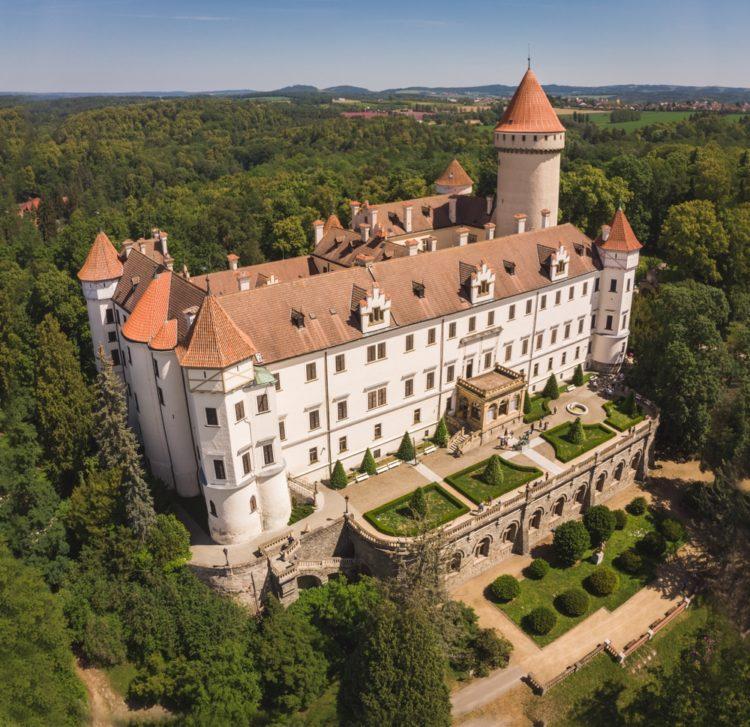 Конопиште в Чехии