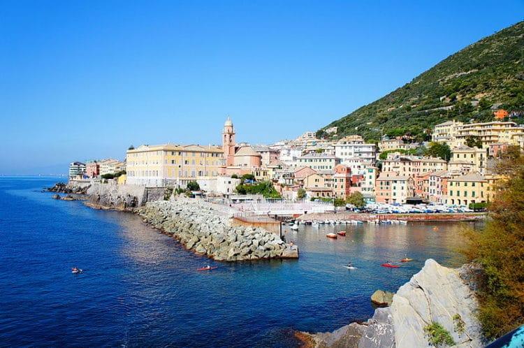Городок Нерви - достопримечательности Генуи