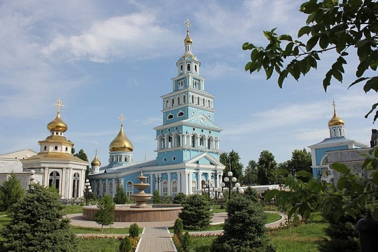 Успенский собор в Узбекистане