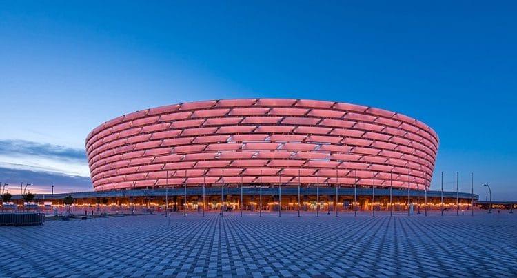 Бакинский олимпийский стадион в Азербайджане