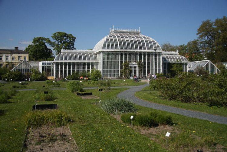 Ботанический сад в Финляндии