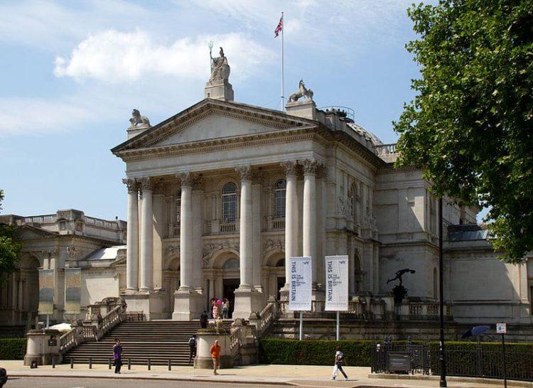 Британская галерея Тейт в Англии
