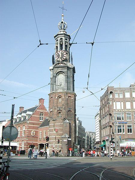 Монетная башня в Нидерландах
