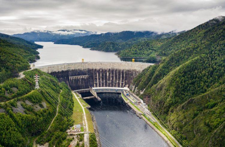 Саяно-Шушенская ГЭС в России