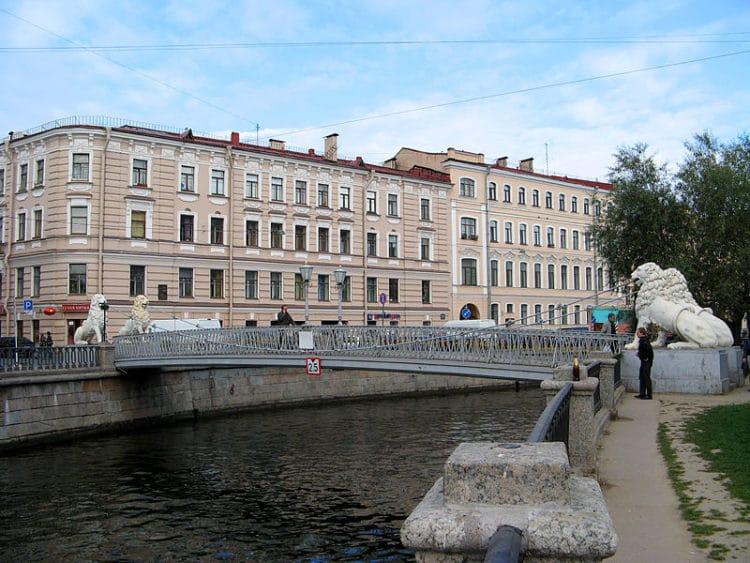 Львы Санкт-Петербурга - достопримечательности Санкт-Петербурга