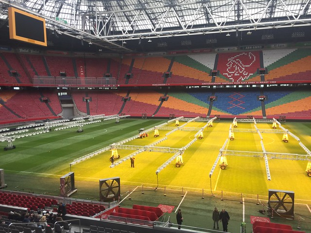 Стадион Амстердам-Арена в Нидерландах