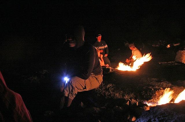 Огненная гора Янарташ в Турции