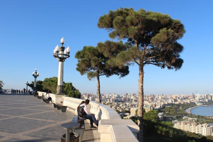 Нагорный парк в Азербайджане