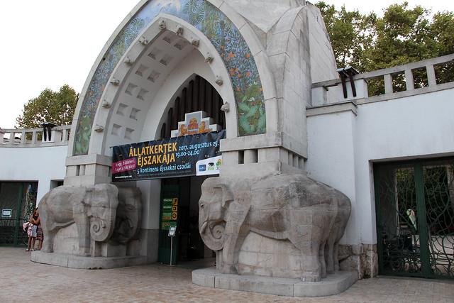 Будапештский зоопарк в Венгрии