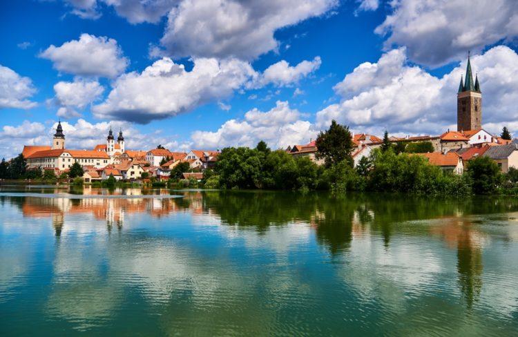 Город-музей Тельч в Чехии