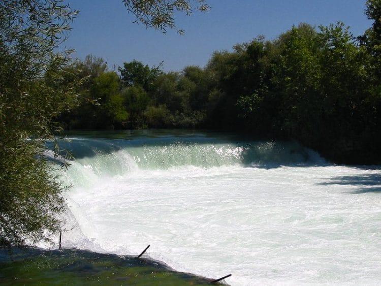 Водопад Манавгат в Турции