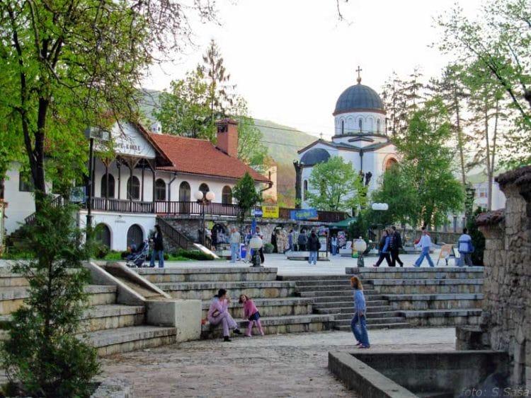 Курорт Сокобаня в Сербии