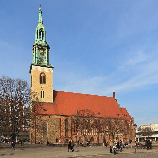 Церковь Святой Марии в Германии