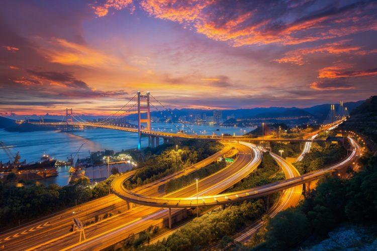 Мост Цинма в Китае
