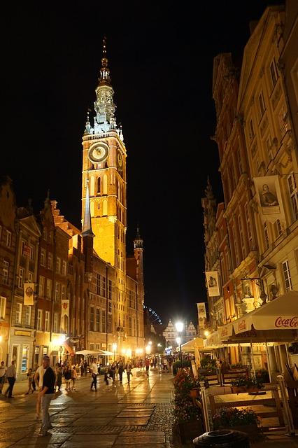 Ратуша Главного города - достопримечательности Гданьска