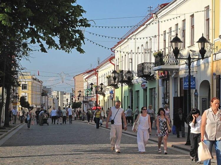 Советская улица - достопримечательности Гродно