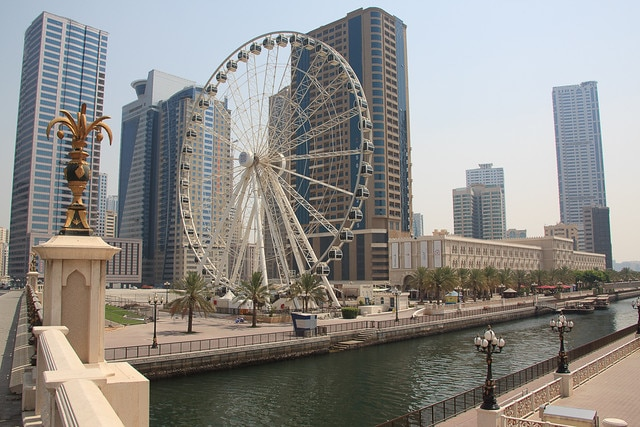 Канал Аль-Касба в ОАЭ