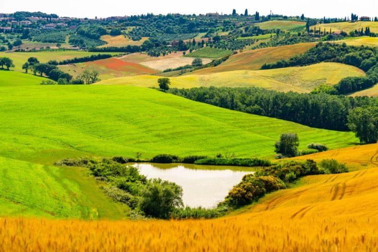 Культурный ландшафт Валь д'Орча в Италии