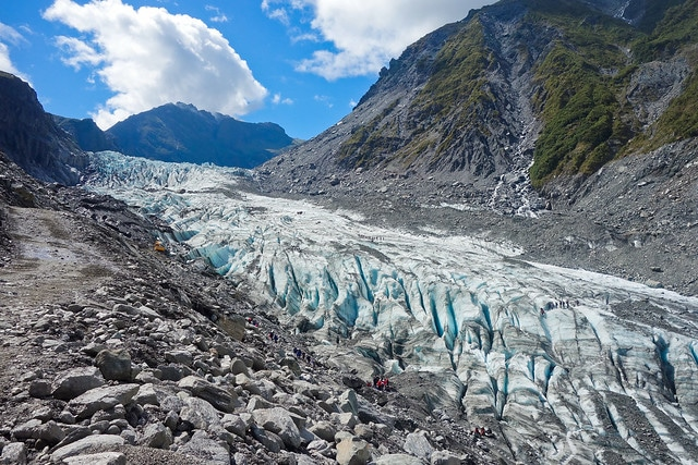 Ледник Фокса в Новой Зеландии
