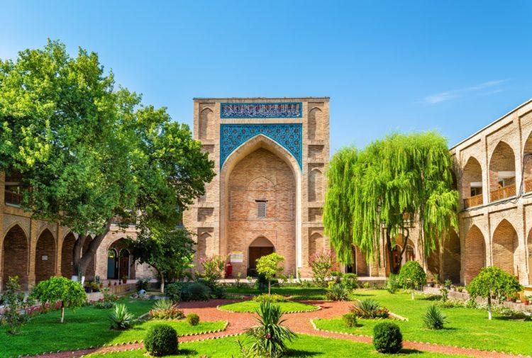 Медресе Кукельдаш в Узбекистане