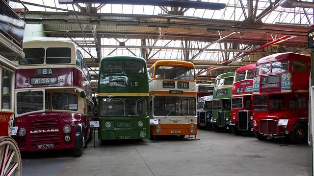 Манчестерский музей общественного транспорта в Англии