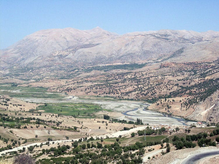Гора Немрут-Даг в Турции