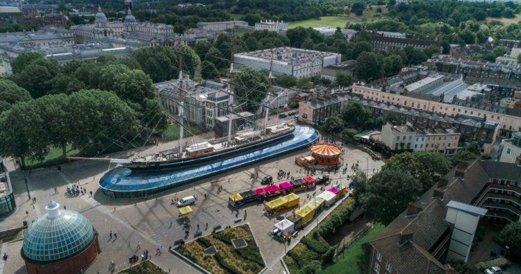 Музей-корабль «Катти Сарк» в Англии