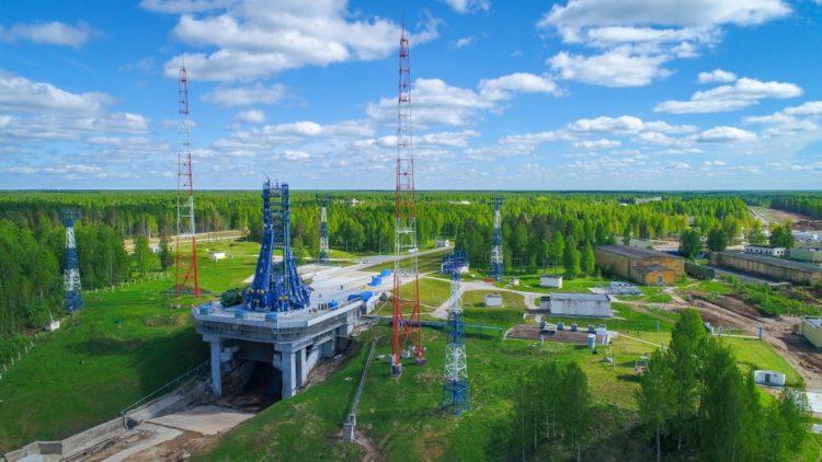 Космодром «Плесецк» в России