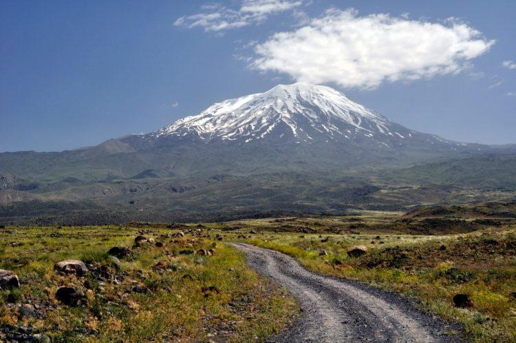 Гора Арарат в Турции