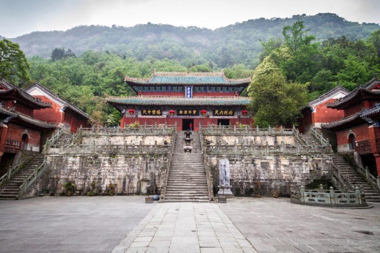 Монастыри Уданшань в Китае